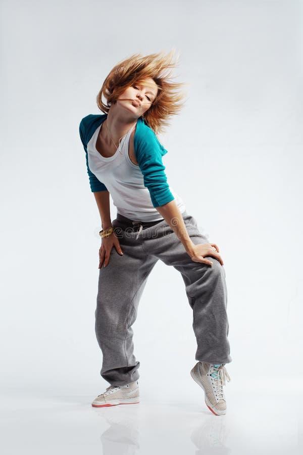 Heup-hop danser royalty-vrije stock afbeeldingen