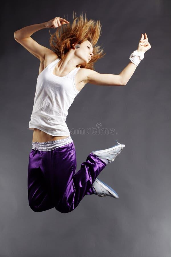 Heup-hop danser stock foto's