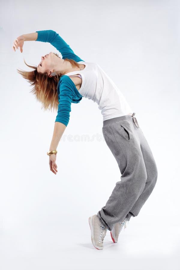 Heup-hop danser royalty-vrije stock afbeelding