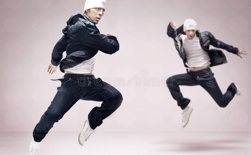 Heup-hop dansers stock foto
