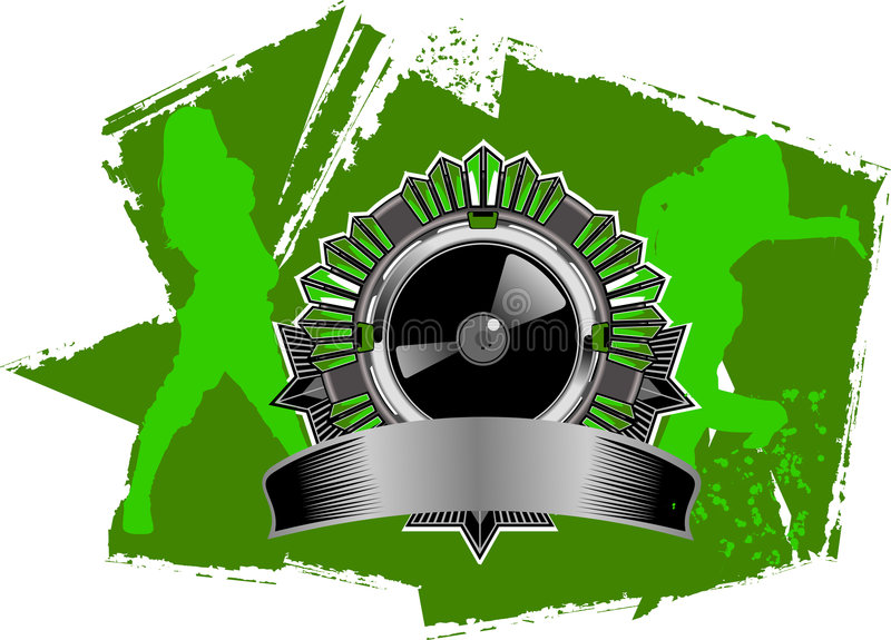 Heup-hop het Teken van de Muziek vector illustratie