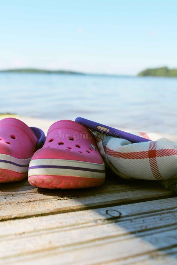 Heure d'été avec la nature sans instrument images libres de droits