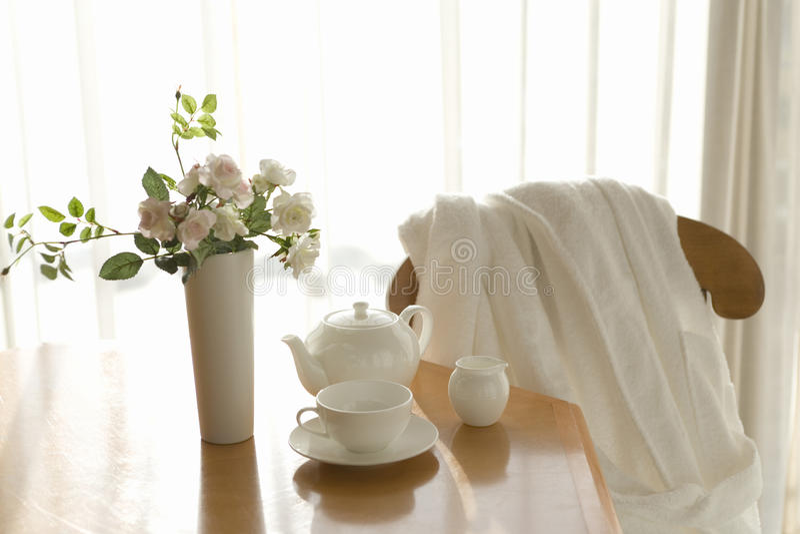 heure du thé photo stock