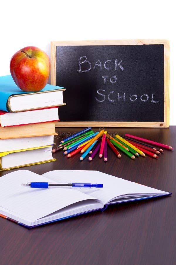 Heure Pour De Nouveau à L école Photos stock
