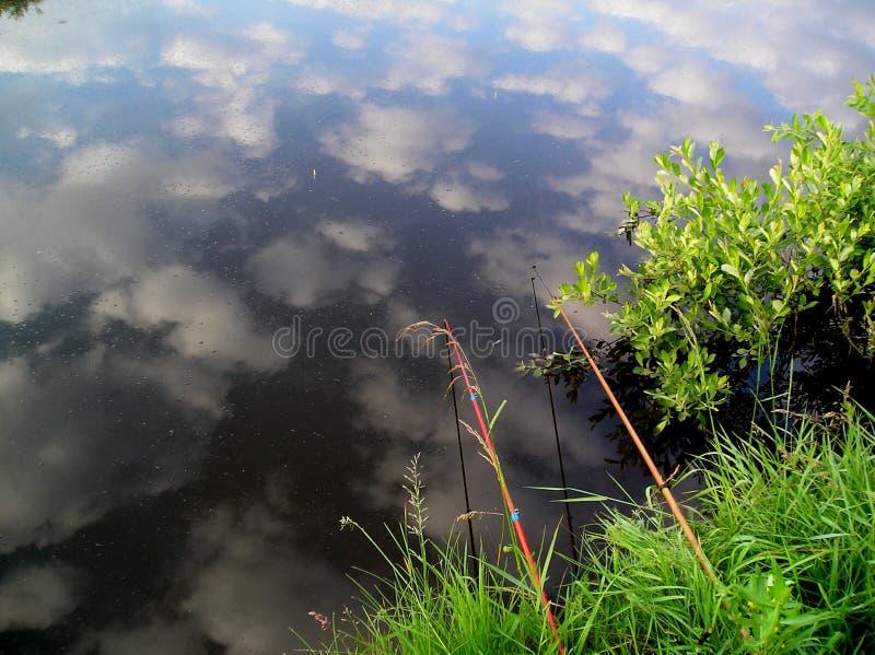Heure pour la pêche photographie stock libre de droits