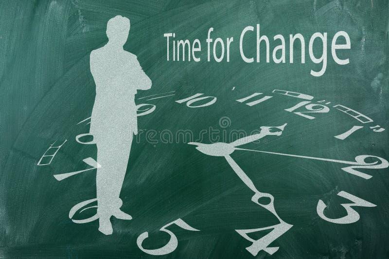 Heure pour le changement photos libres de droits