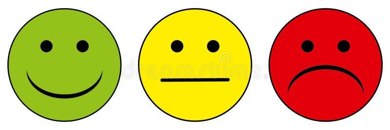 foto de Heureux Aux Smiley Malheureux Illustration Stock Illustration du simple regarder: 39762115