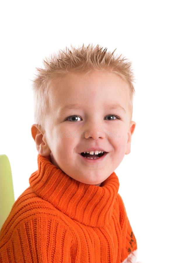 Download Heureux riant deux ans image stock. Image du enfants, innocent - 2144567