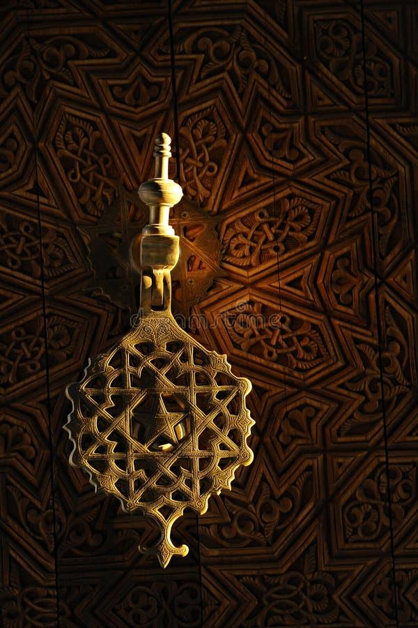 Heurtoir de trappe marocain photo libre de droits