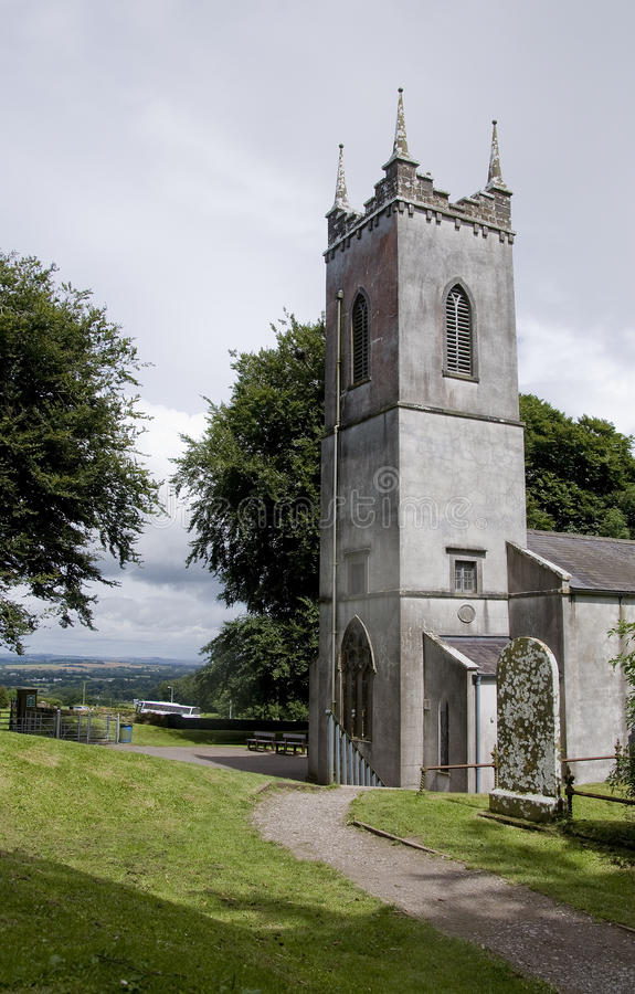 Heuvel van Tara Kerk stock afbeelding