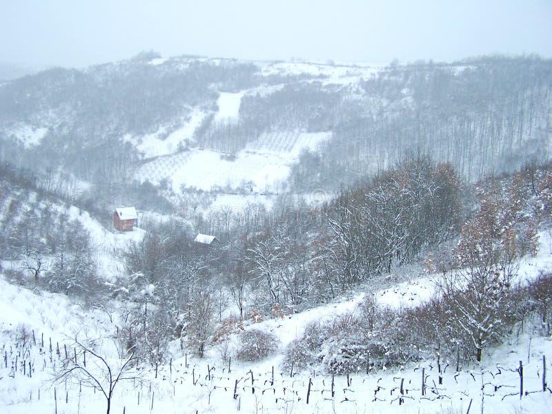 Heuvels in maart royalty-vrije stock fotografie