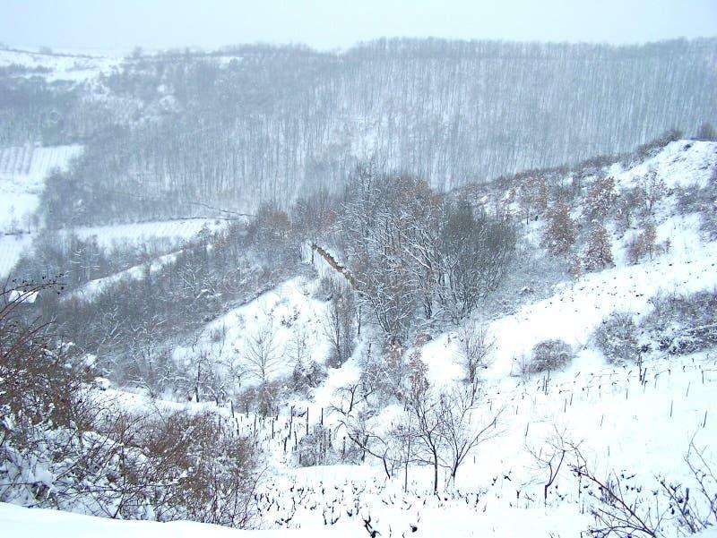 Heuvels in maart royalty-vrije stock afbeeldingen