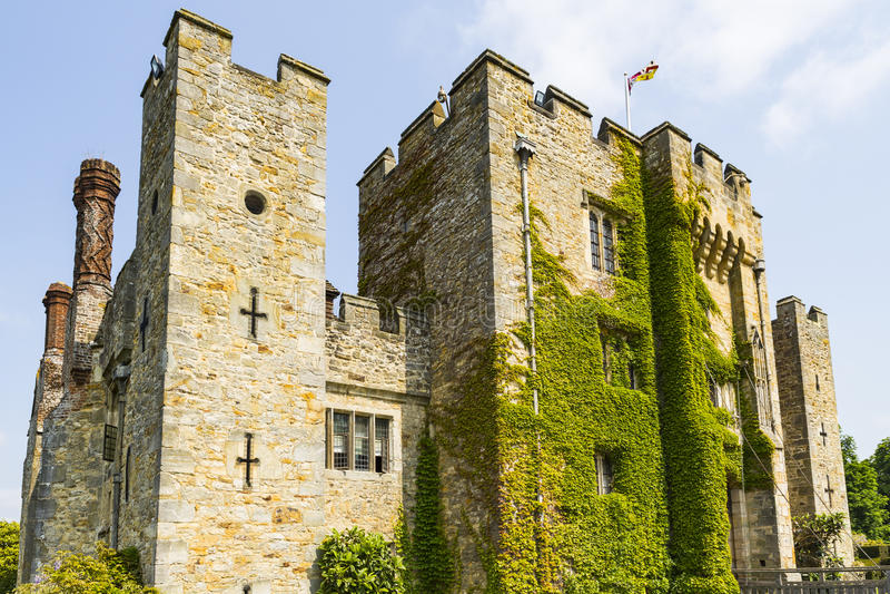 Hever Castle. & Gardens, Hever, Edenbridge, Kent, England, United Kingdom royalty free stock photography
