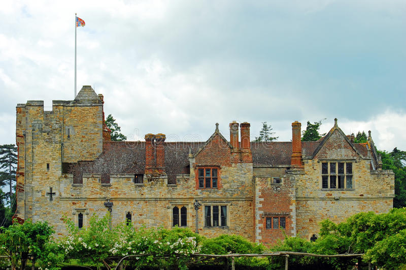 Download Hever castle side view stock image. Image of anne, english - 20567353