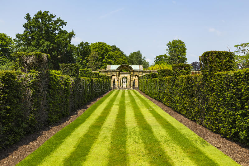 Hever Gardens. Hever Castle & Gardens, Hever, Edenbridge, Kent, England, United Kingdom stock photos