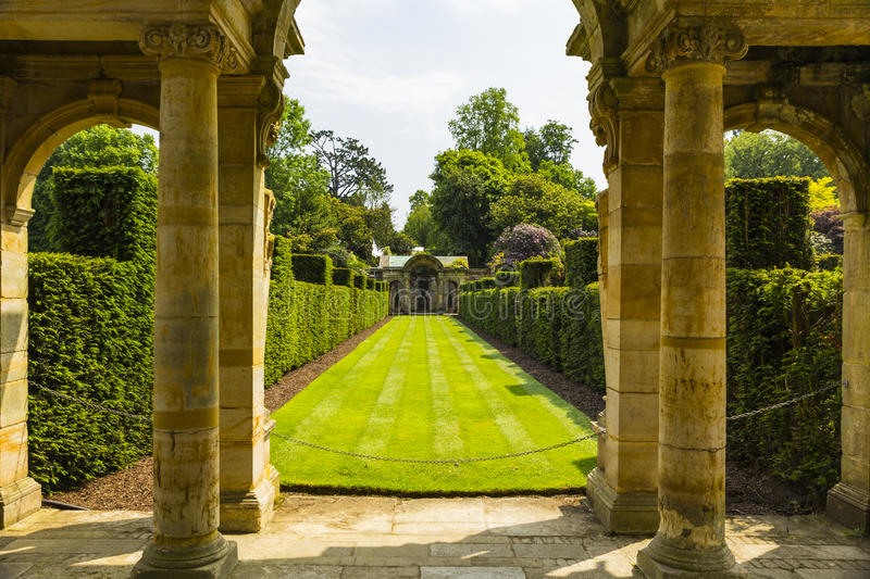 Hever Gardens royalty free stock images