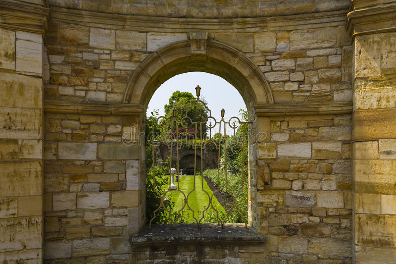 Hever Gardens stock photo