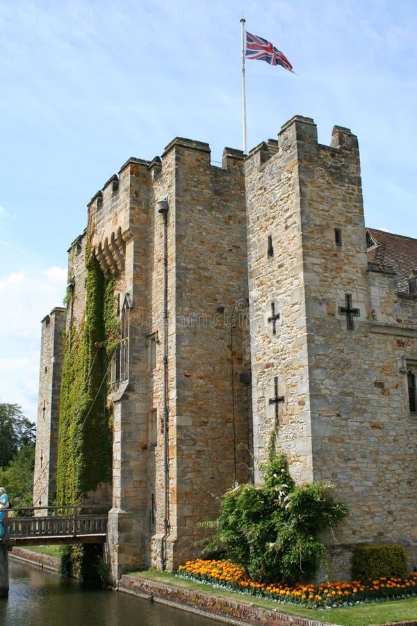 Hever Schloss stockfoto