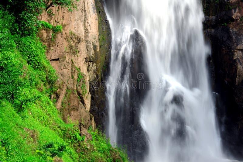 Hew Narok waterfall in Thailand. Hew Narok waterfall : Beautiful waterfall in Thailand at Khaoyai national park stock images