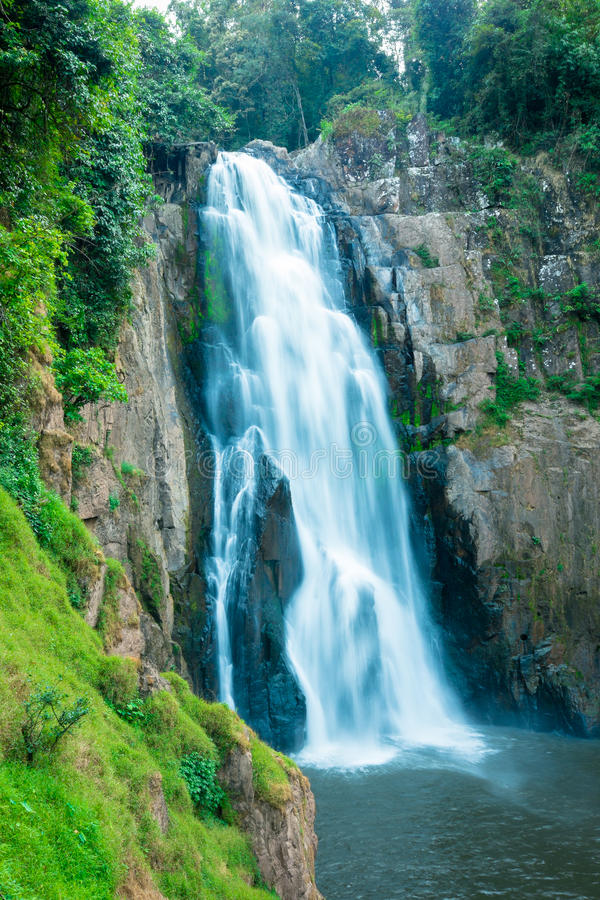 Hew Narok waterfalls. At Khao Yai National Park Nakhon Ratchasima, Thailand royalty free stock image