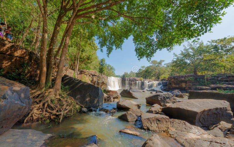 Hew Su Wat Waterfall, Pak Chong District, Nakhon Ratchasima, Thailand.  stock images