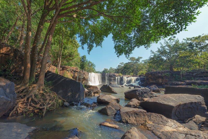 Hew Su Wat Waterfall, Pak Chong District, Nakhon Ratchasima, Thailand. Hew Su Wat Waterfall, Pak Chong District, Nakhon Ratchasima,Thailand stock image