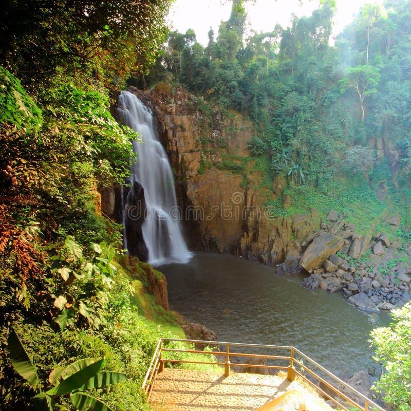 Hew Suwat Waterfall, Nakhon Ratchasima Thailand. Travel royalty free stock image