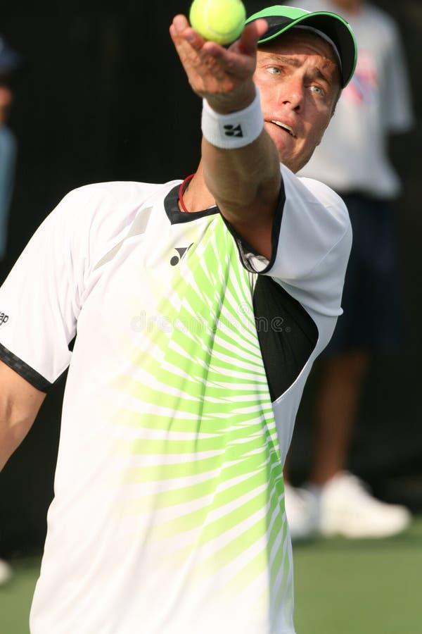 hewitt lleyton gracza fachowy serw tenis zdjęcia royalty free