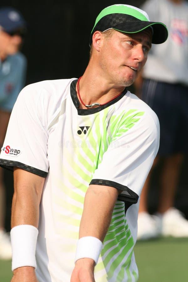 hewitt lleyton gracza fachowy serw tenis obrazy royalty free