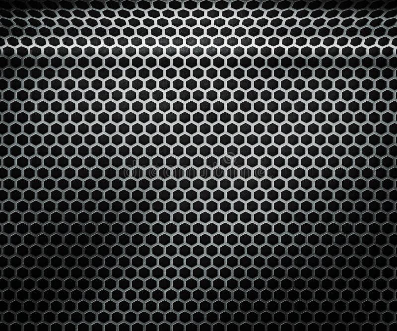 Hex metalu tekstura royalty ilustracja