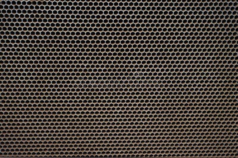 hexagon σύσταση χάλυβα στοκ φωτογραφίες με δικαίωμα ελεύθερης χρήσης