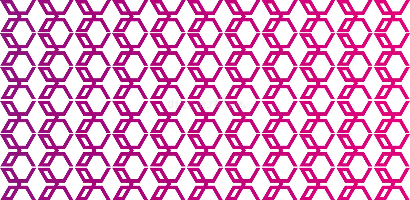 Hexagon Backdrop Royalty Free Stock Image