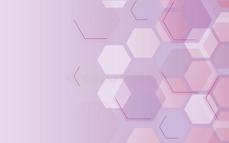 Hexagon background. Gradient fill. Geometric pattern on a white background. Abstract hexagon background. Gradient fill. Geometric pattern on a white background vector illustration