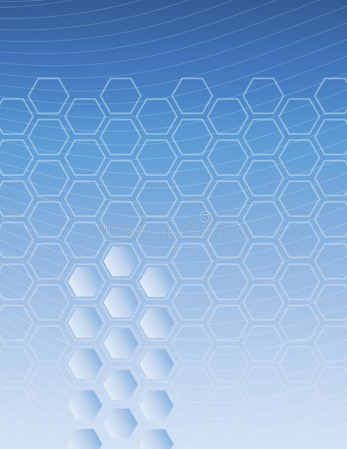 Download Hexagon Blue Background stock vector. Image of tone, vectorized - 3017336