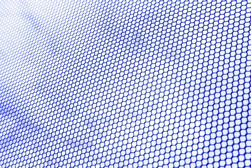 hexagon draadnetwerk royalty-vrije stock afbeelding