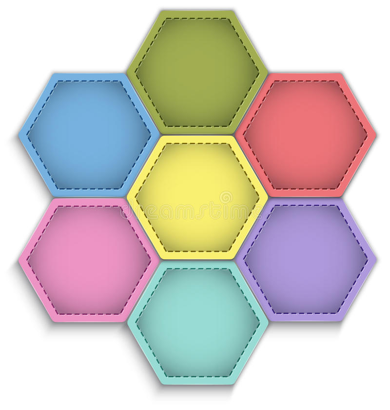 Download Hexagon Flower Stock Photography - Image: 31274612