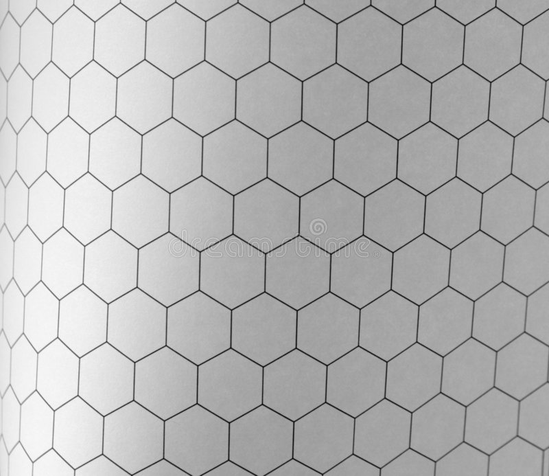Hexagon Graph Background Royalty Free Stock Photos - Image: 4882918