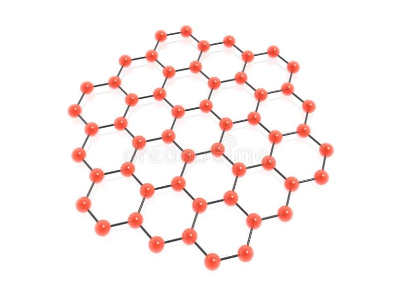 Hexagon group vector illustration