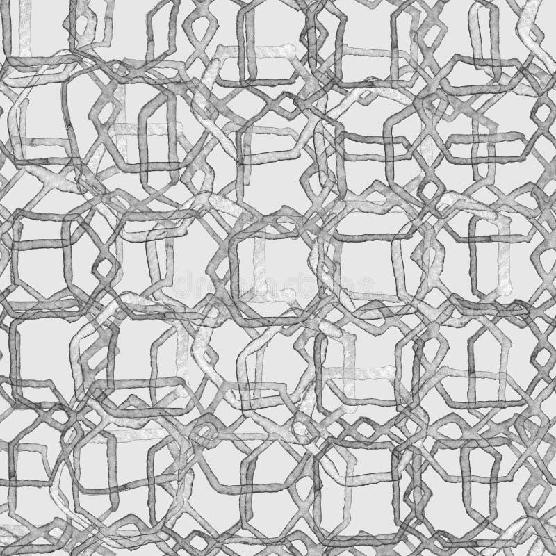 Hexagon minimal pattern. vector illustration