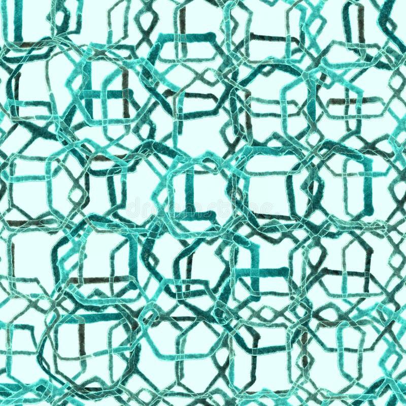 Hexagon minimal pattern. stock illustration