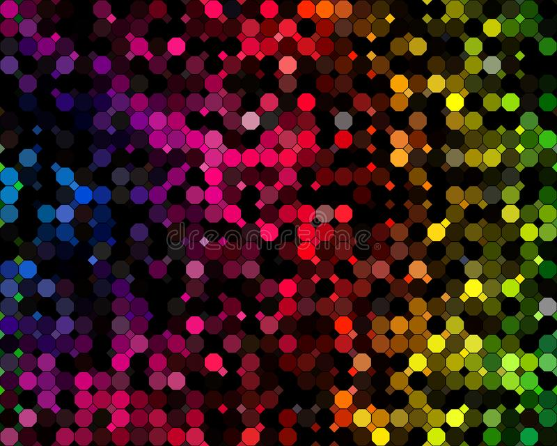 Colour circles abstract background royalty free stock images