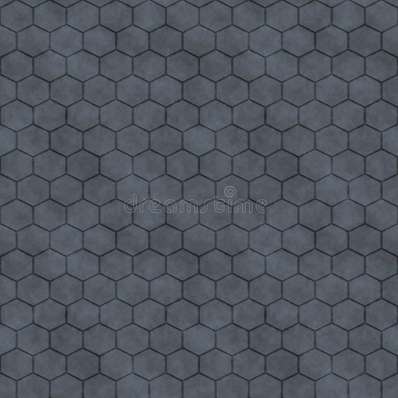 Download Hexagon Seamless Pattern stock illustration. Illustration of flooring - 24730833