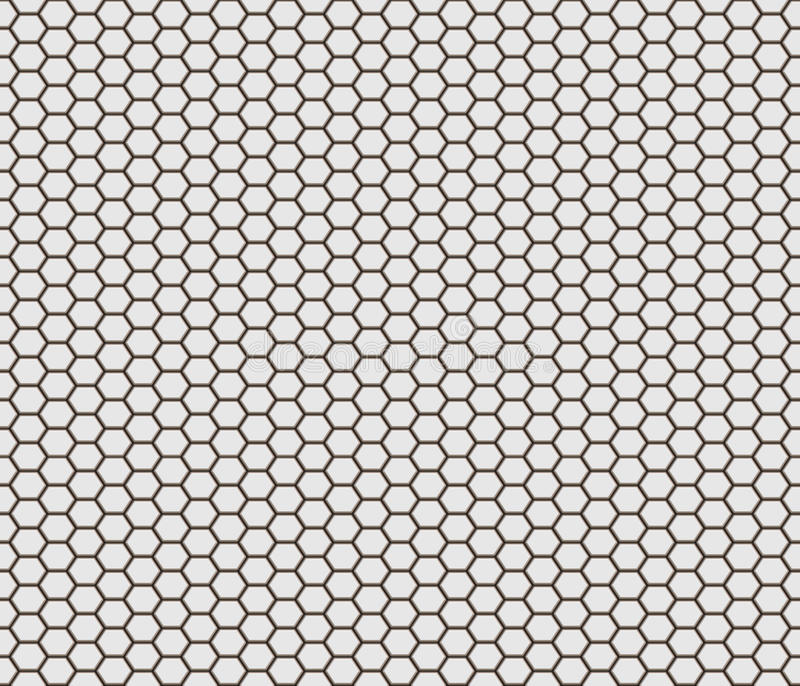 Download Hexagon shape tiles stock illustration. Image of hexagons - 20370012