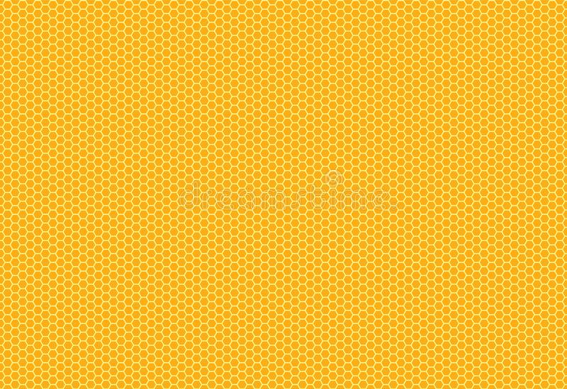 Hexagon structure on the yellow background. Eps 10 vector vector illustration