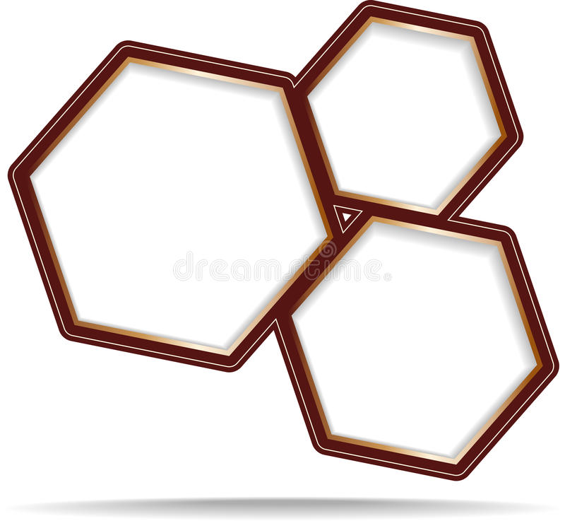 Download Hexagon vector banner stock vector. Illustration of abstract - 24543108
