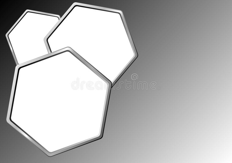 Download Hexagonal Background stock vector. Image of graphic, element - 11175447