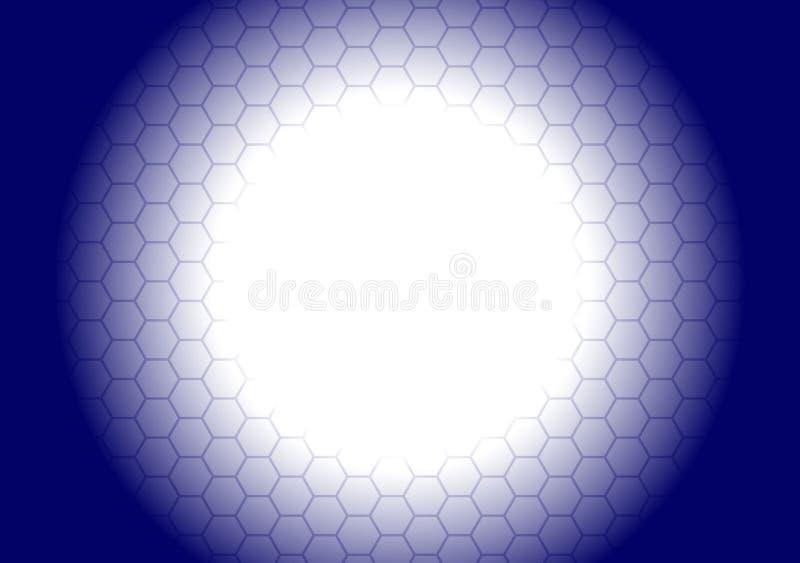 Hexagonal Background Royalty Free Stock Photo