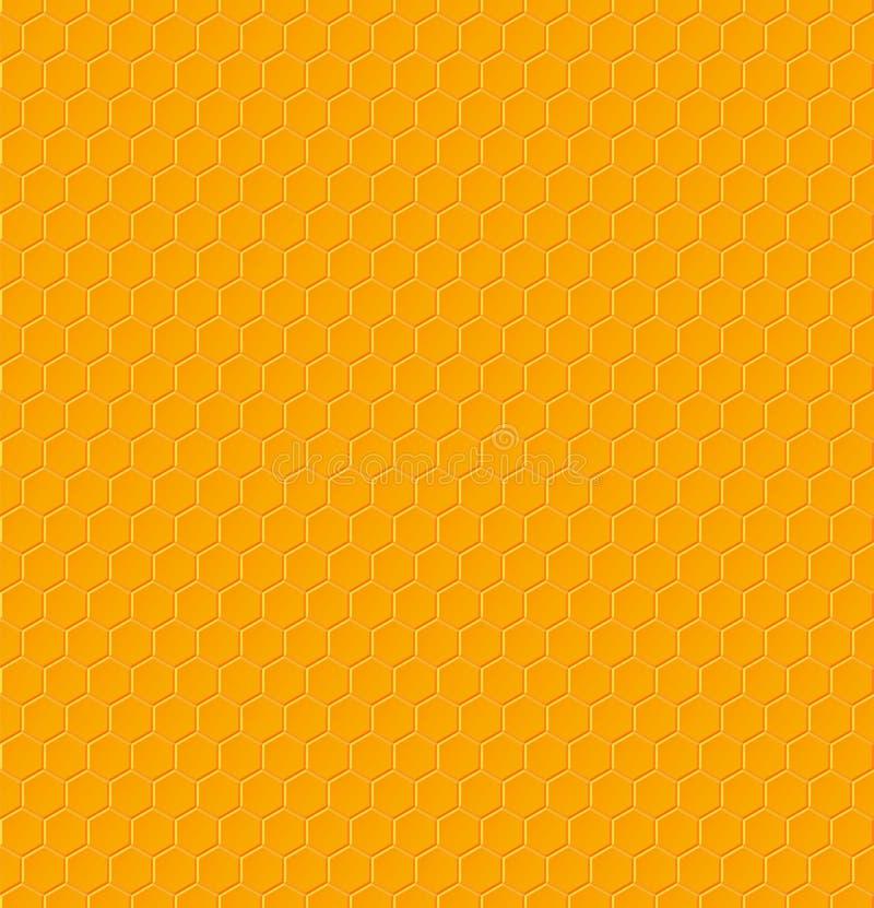 Hexagonal géométrique sans couture illustration de vecteur