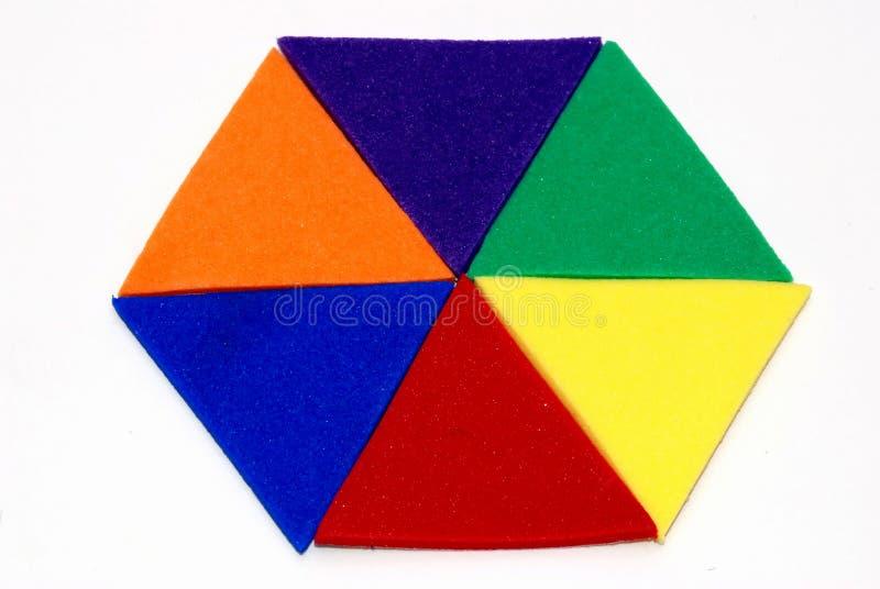 hexagone photo libre de droits
