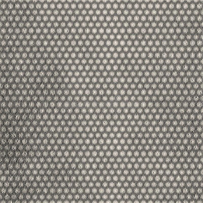 Hexagongitterbeschaffenheit vektor abbildung
